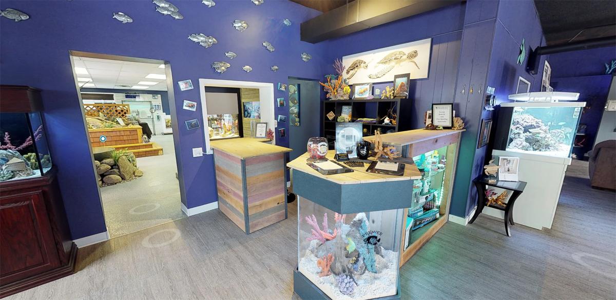 showroom in st louis park Premier Aquarium Service - Minneapolis, Minnesota