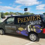Premier Aquarium Service Van - Minneapolis, Minnesota