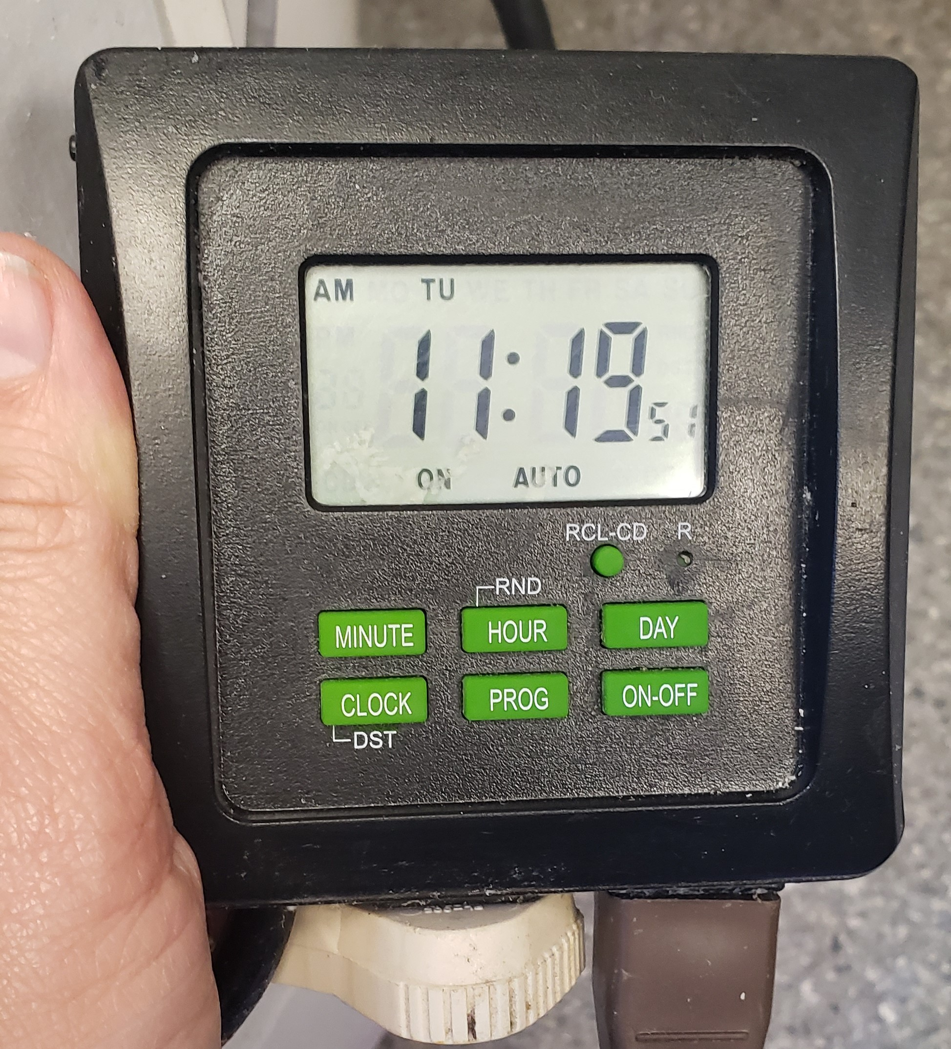 Changing Your Aquarium Timers